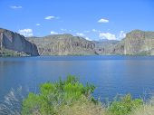Arizona Water  And Mountains