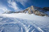 Winter With Ski Slopes in Kaprun Resort