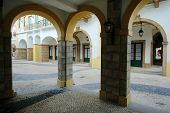 Various Arches Of Portuguese Architectures poster
