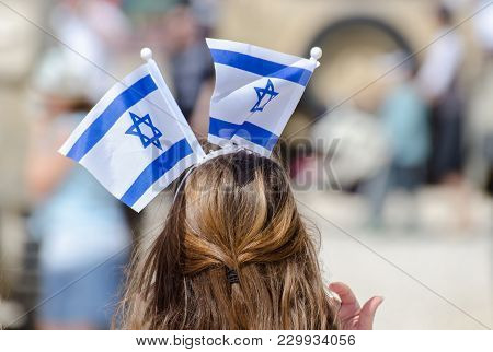 The Patriotic Girl With Israeli