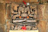 Headless Hindu God Statue