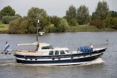 Dutch motorboat