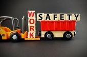 Work Safety In Order To Avoid Risks And Accidents At The Job poster