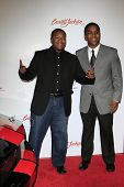 SANTA MONICA - OCT 4: Kyle Massey, his brother Christopher Massey at the 11th Annual Lili Claire Foundation Benefit at the Santa Monica Civic Auditorium in Santa Monica, California on October 4, 2008