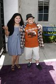 BURBANK - MAY 2: Raini Rodriguez and Rico Rodriguez at the Lollipop Theater Network's second annual