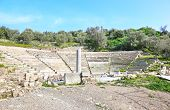 Small Ancient Theater At The Town Of Ancient Epidaurus poster