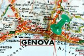 Genova On Map