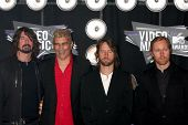 LOS ANGELES - AUG 28:  Foo Fighters arriving at the  2011 MTV Video Music Awards at the LA Live on A