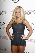 WEST HOLLYWOOD - AUG 28: Kendra Wilkinson at the 4th annual Icons & Idols party at the Sunset Tower Hotel in West Hollywood, California on August 28, 2011
