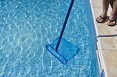 Cleaning pool