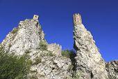 historic ruins of castle Devin
