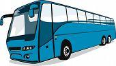 Tourist Coach Bus poster