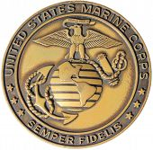 stock photo of united states marine corps  - United States Marine Corps Emblem  - JPG
