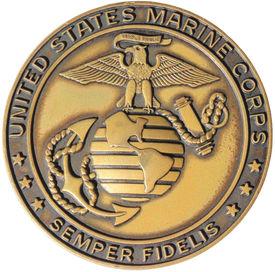 stock photo of corps  - United States Marine Corps Emblem  - JPG