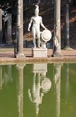 stock photo of ares  - Statue of Ares in Villa Adriana near Rome - JPG