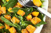 Pumpkin and Spinach Salad