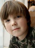 Openfaced Little Boy