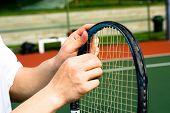 Fixing Tennis Racket