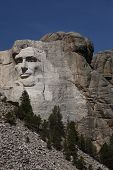 Lincoln On Mount Rushmore