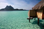 The Lagoon On Bora Bora