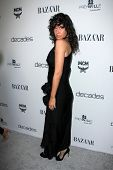 LOS ANGELES - FEB 28:  Paz de la Huerta arrives at the Harper's Bazaar Celebrates The Launch Of The