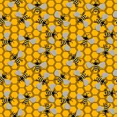 Seamless Bees