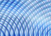 Funky Fun Blue Radial Background Or Backdrop