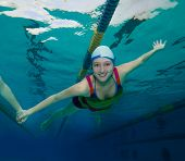 Underwater Fun In The Pool