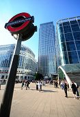 London Underground, Canary Wharf
