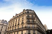 Paris Apartment block, in the typical neoclassical style