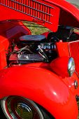 1936 Ford Coupe Engine
