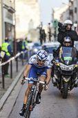 Paris- Nice Cycling Race Action