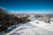 picture of west village  - sunny day at the north carolina skiing resort in february - JPG