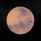 Mars Planet - 3D Render