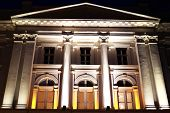 Ioan Slavici Theater - Architectural detail in Arad, Romania, Europe