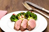 Roasted Duck Breast With Rind