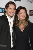 LOS ANGELES - OCT 23:  Gleb Savchenko, Lisa Vanderpump at the Real Housewives of Beverly Hills Seaso