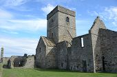 Inchcolm Abbey Exterior