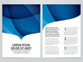 image of brochure  - vector business brochure - JPG