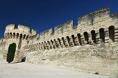 Town Wall Of Avignon