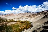 picture of manali-leh road  - Ladakh in Indian Himalayas Himachal Pradesh India - JPG