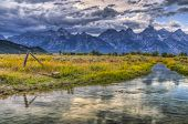 Grand Teton Lanscape