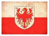 Grunge Flag Of Alto Adige (italy)