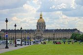 The Ecole Militaire In Paris, France