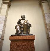 Karl Marx In Budapest