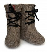 Child's valenki - russian felt footwear