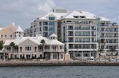 Downtown Hamilton in Bermuda
