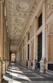 Baroque Arcade In Rome