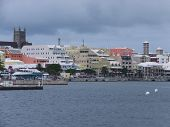 Downtown Hamilton in Bermuda