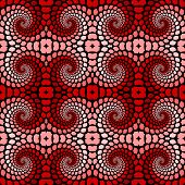 Design Seamless Colorful Twirl Movement Pattern
